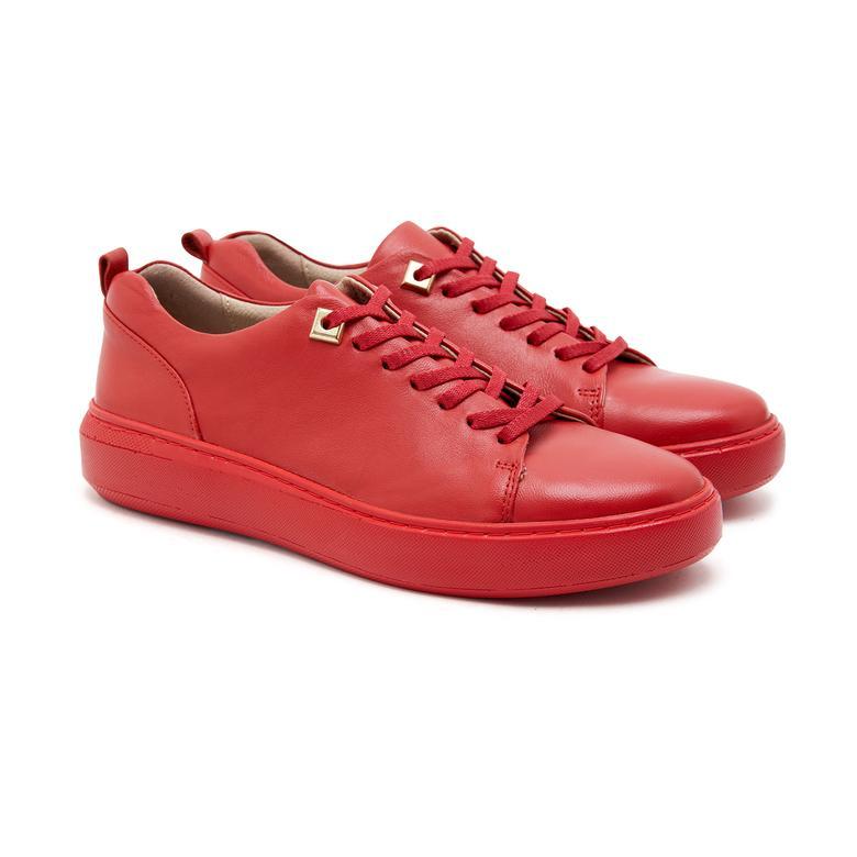Yetta Kadın Deri Spor Ayakkabı 2010046640007