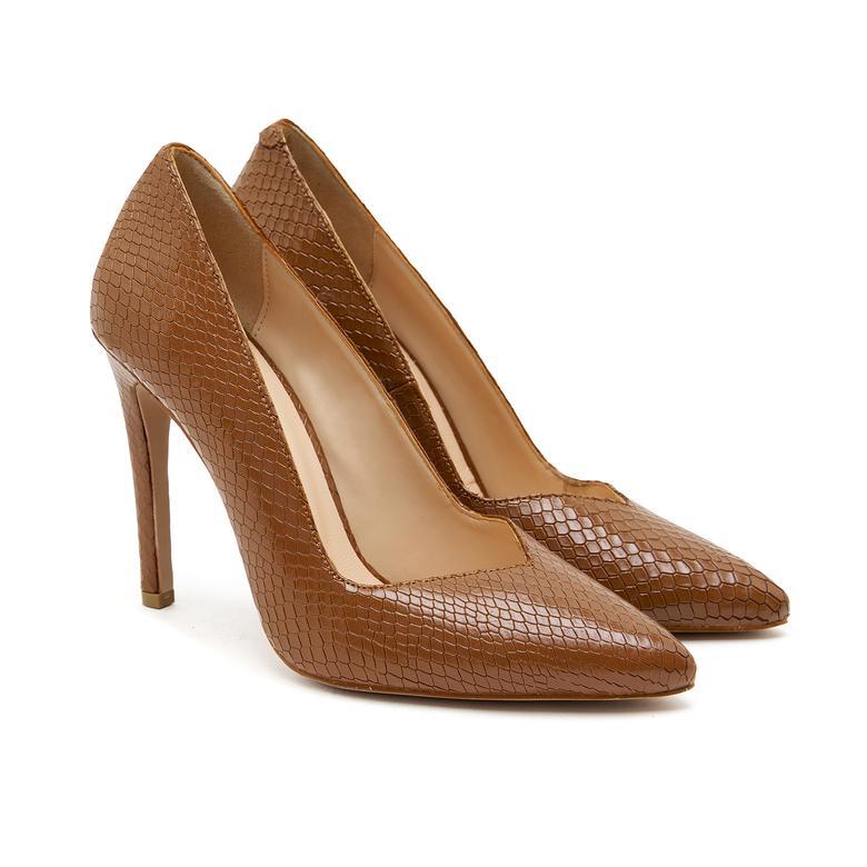 Angelina Kadın Deri Klasik Ayakkabı 2010046942008
