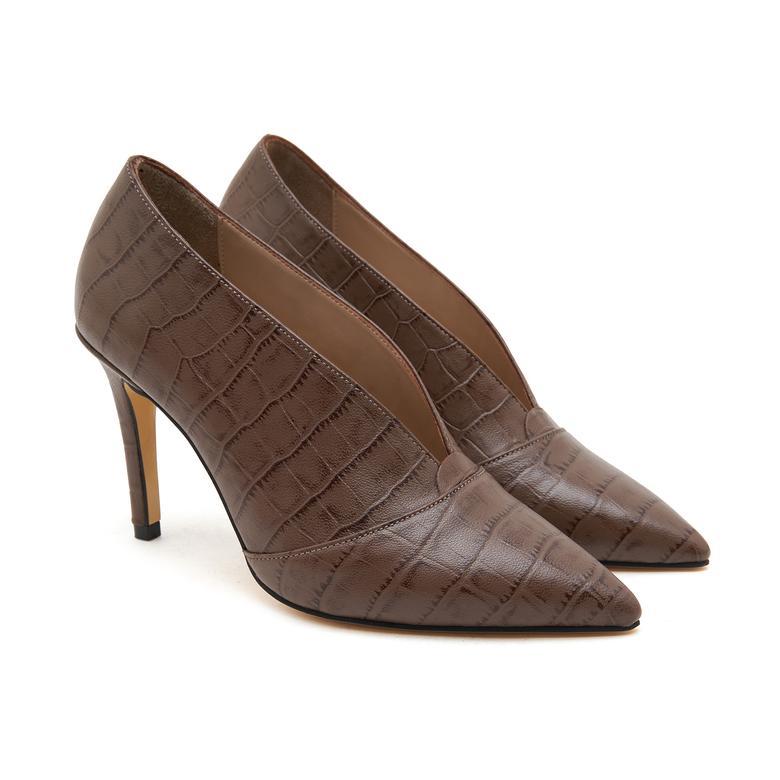 Ballet Kadın Deri Klasik Ayakkabı 2010046679013
