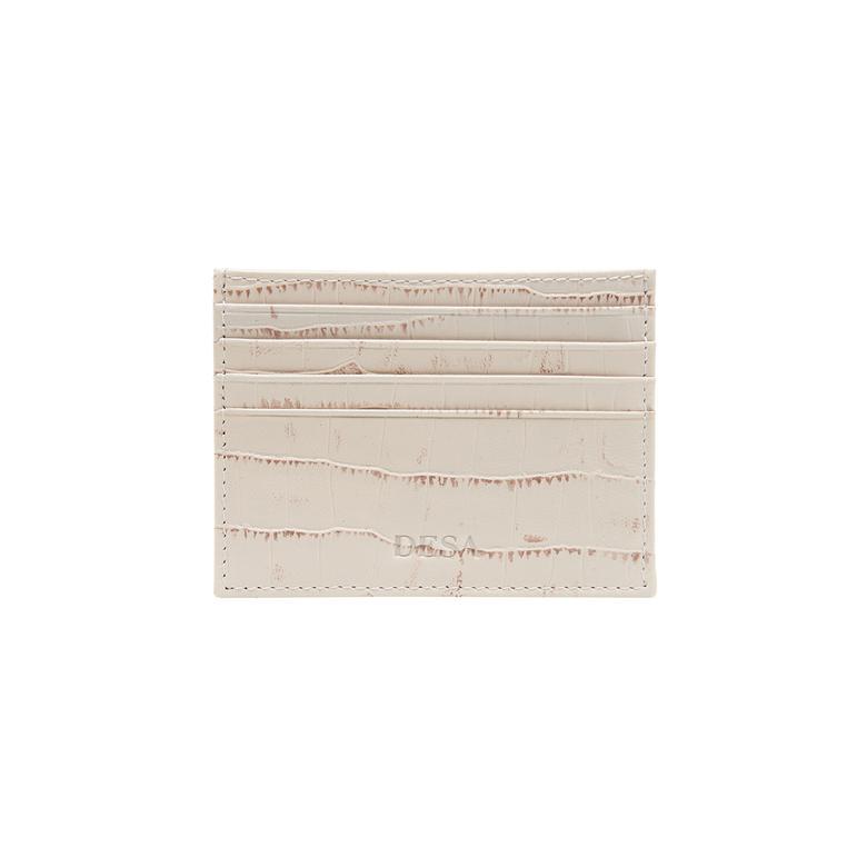 Beyaz Vidal Floter Deri Kartlık 1010031407005