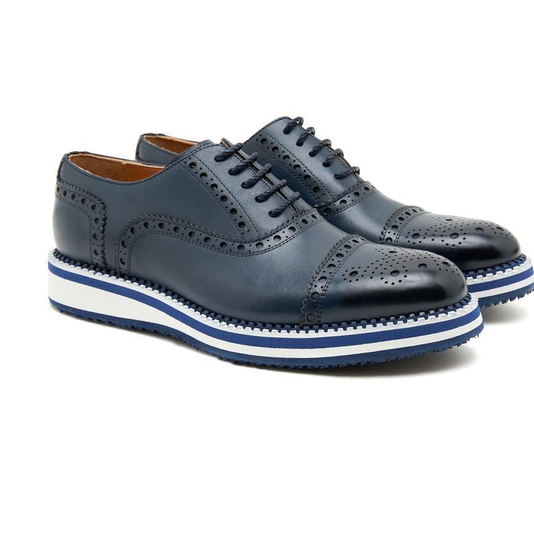 Breezer Erkek Deri Günlük Ayakkabı 2010046978008