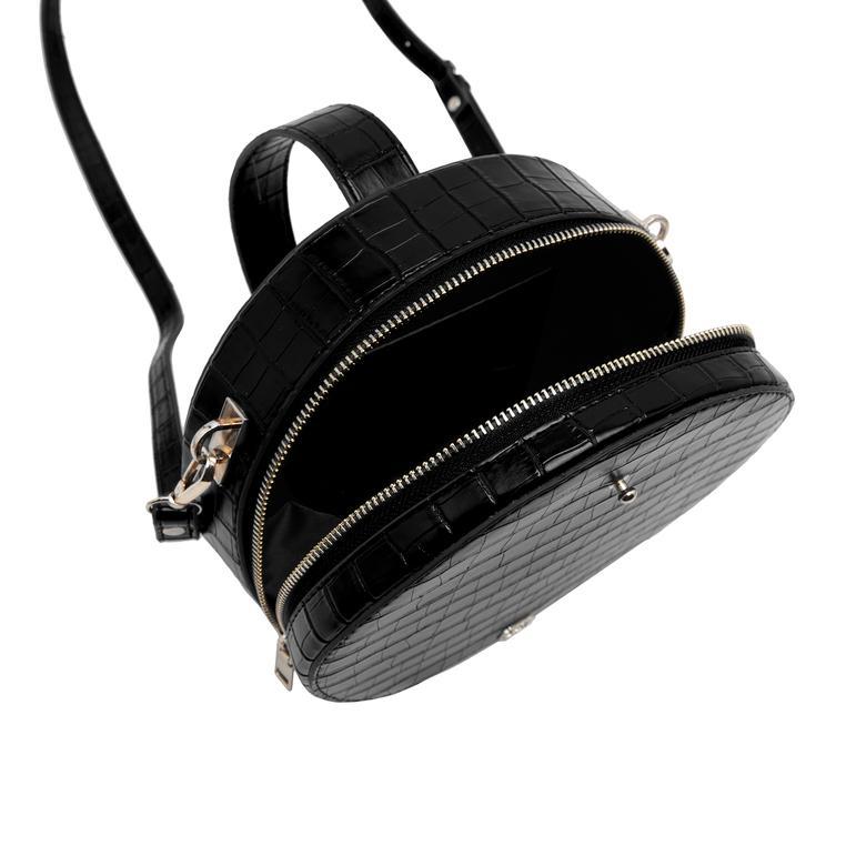Siyah Kotte Kadın Omuz Askılı Çanta 2010046858003