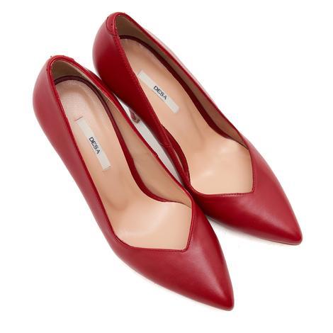 Kırmızı Beruf Kadın Deri Stiletto 2010046749002
