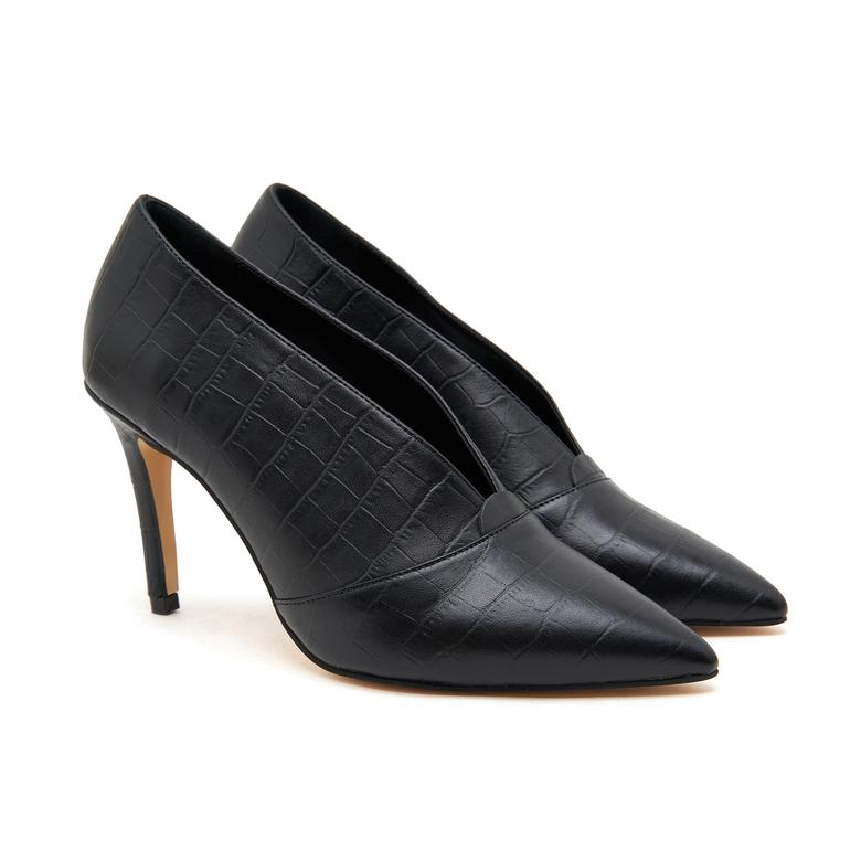 Ballet Kadın Deri Klasik Ayakkabı 2010046679002