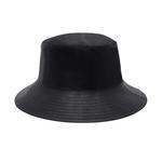 Siyah Kadın Deri Şapka 1010031509004