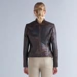 Adrina Kadın Vintage Deri Ceket 1010031328003
