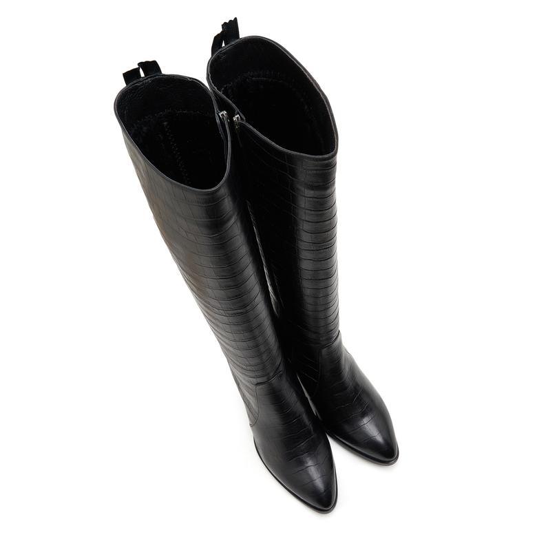 Sattel Kadın Deri Çizme 2010046963003