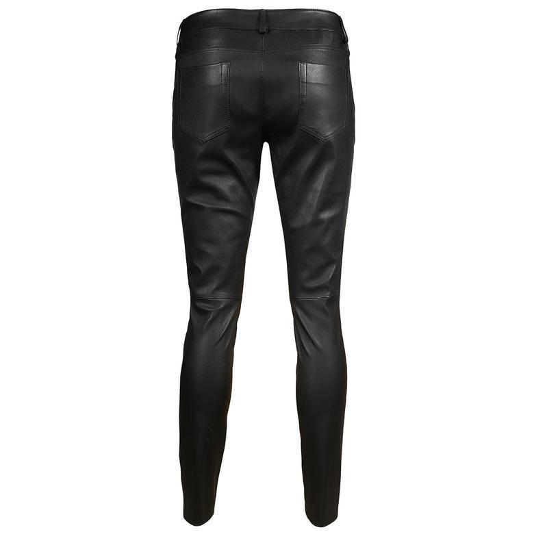Siyah Roisin Kadın Stretch Pantolon 1010027249005