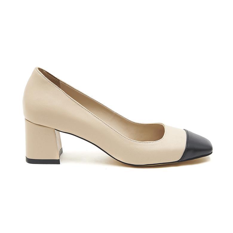 Bonni Kadın Deri Klasik Ayakkabı 2010046680009