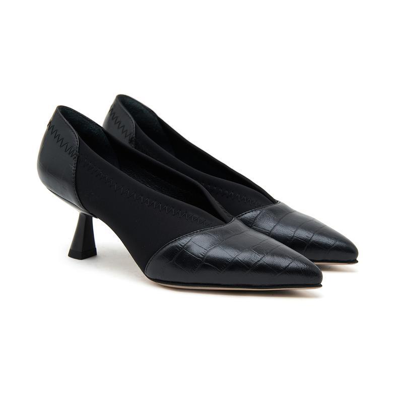 Cindy Kadın Kroko Baskılı Deri Günlük Ayakkabı 2010046684001