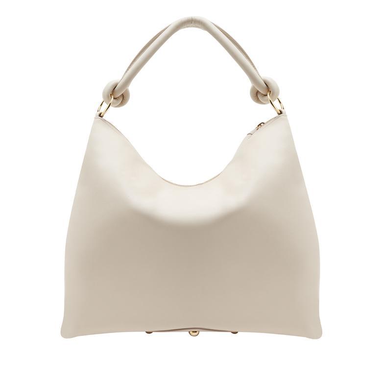 Beyaz Dauer Kadın Deri Omuz Askılı Çanta 1010031337001