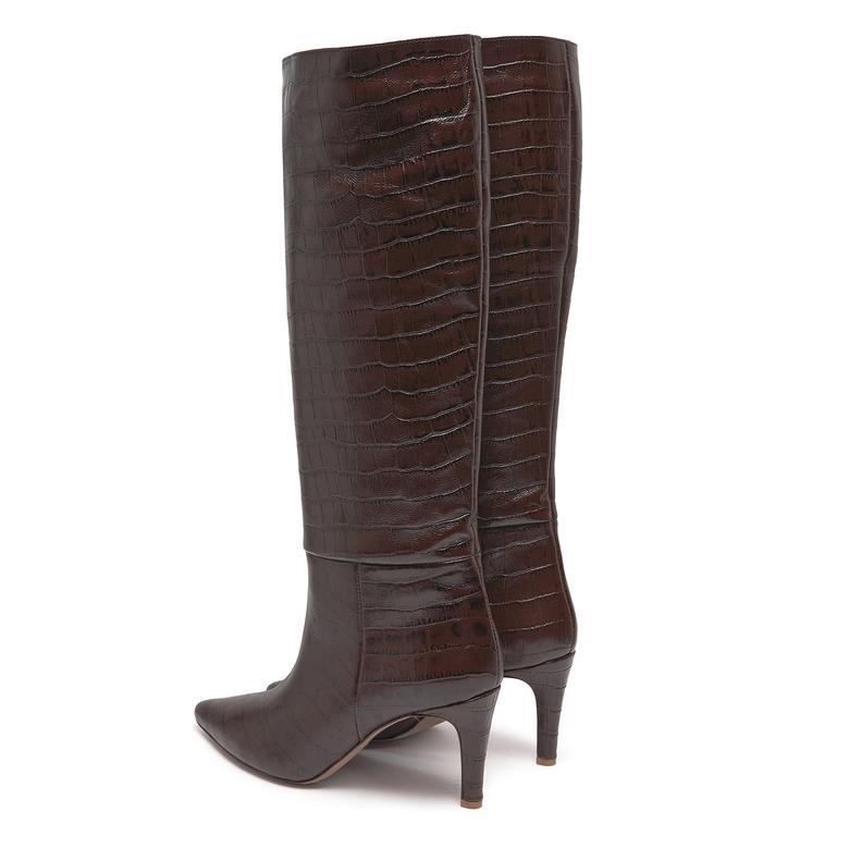 Brand Kadın Deri Çizme 2010046839006