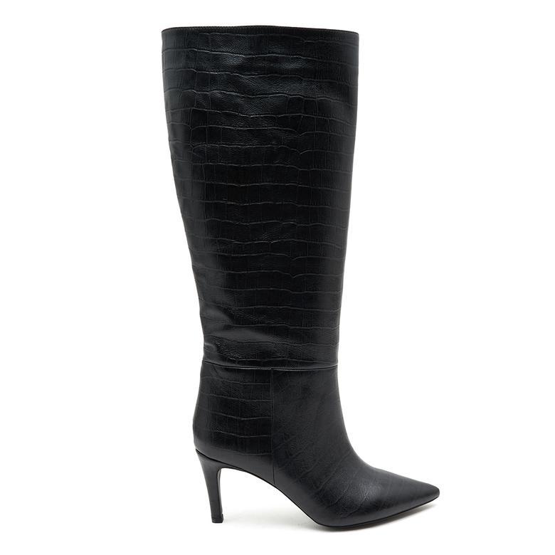 Brand Kadın Deri Çizme 2010046839003