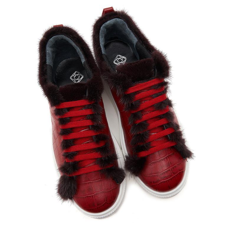 Mauer Kadın Deri Spor Ayakkabı 2010046893012