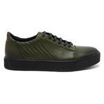 Yeşil Wilder Erkek Deri Sneaker 2010046819006