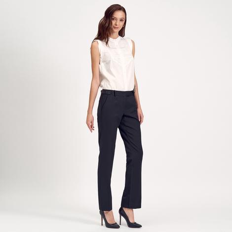 Siyah Klasik Kadın Pantolon 1010007391003