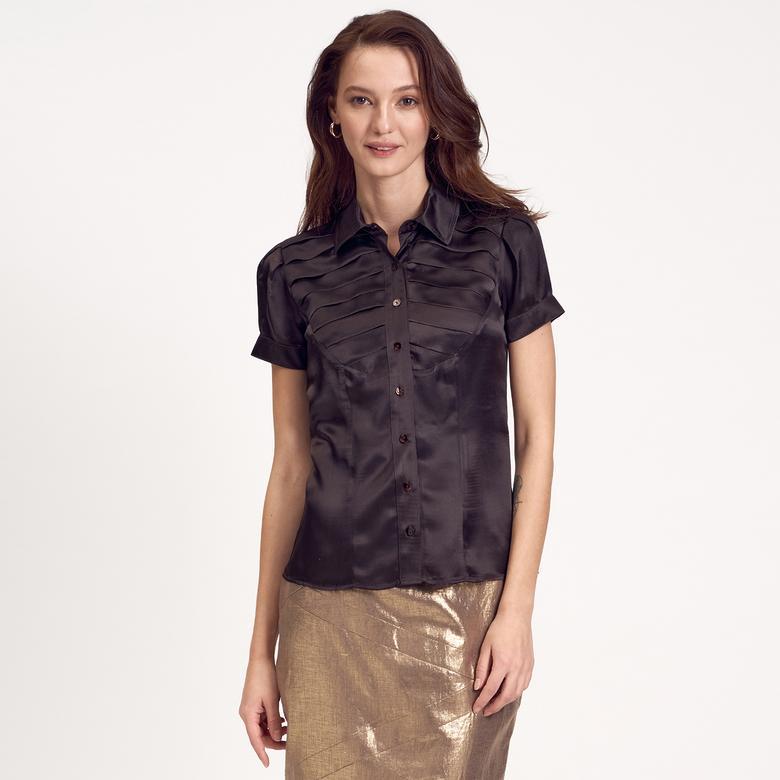 İpek Kadın Gömlek 1010004879002
