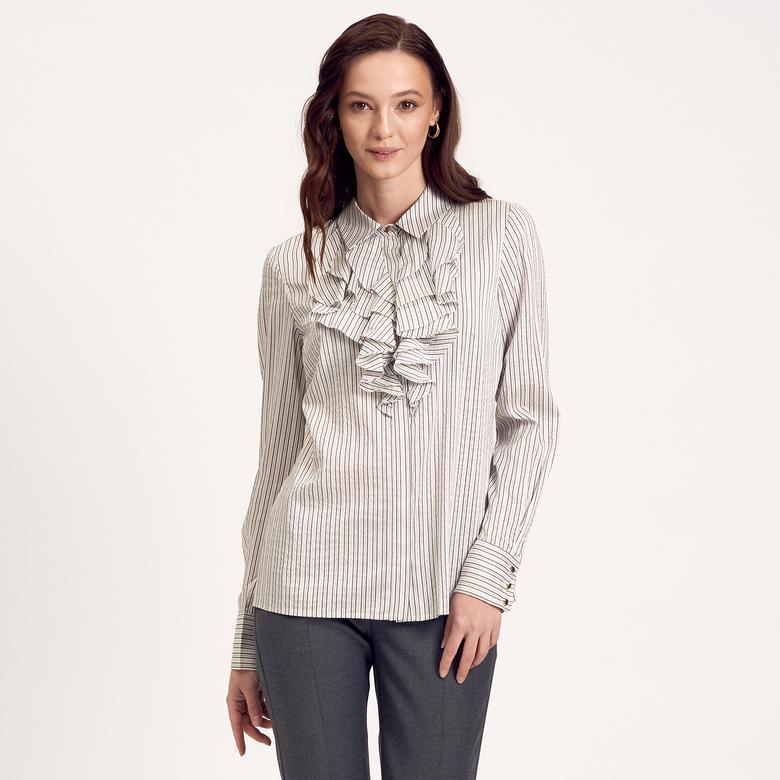 İpekli Kadın Gömlek 1010014918004