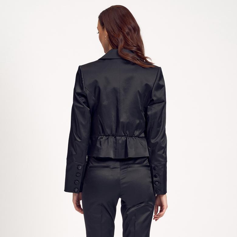 Kısa Kadın Ceket 1010004889002