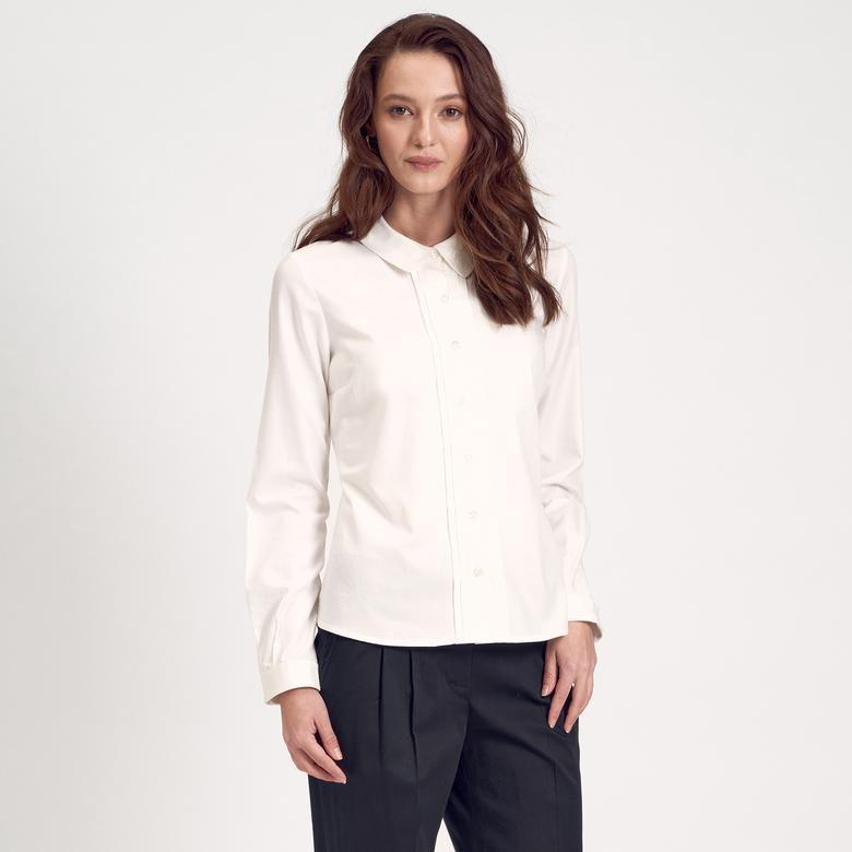 Klasik Kadın Gömlek 1010014715005