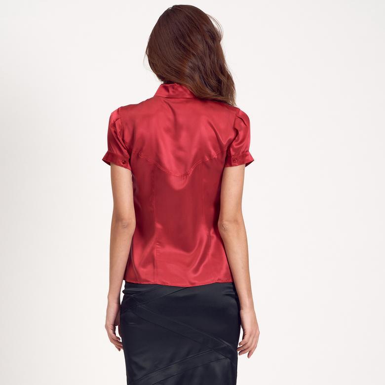 İpek Kadın Gömlek 1010004879007