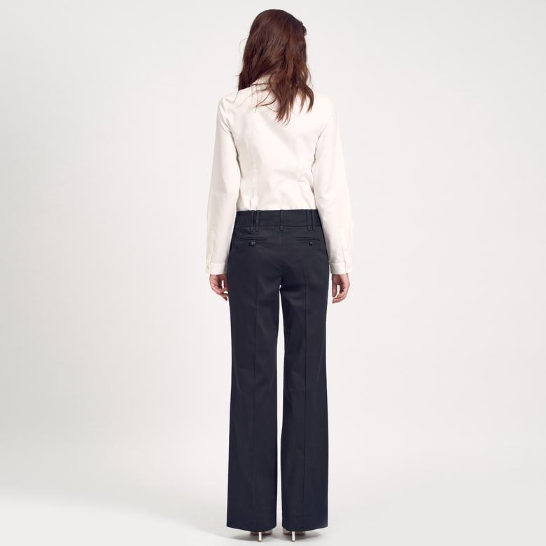 Siyah Koton Kadın Pantolon 1010004865010