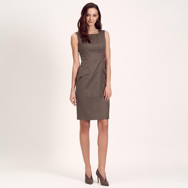 Cep Detaylı Kadın Elbise 1010004796005
