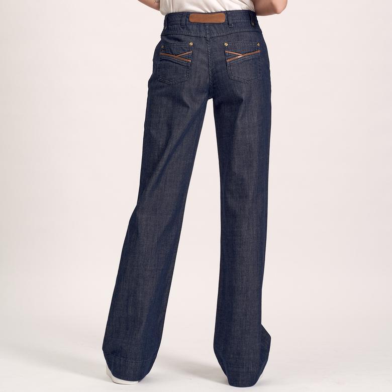 Kadın Denim Pantolon 2010000996004