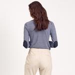 Çizgili Kadın Bluz 1010022323002