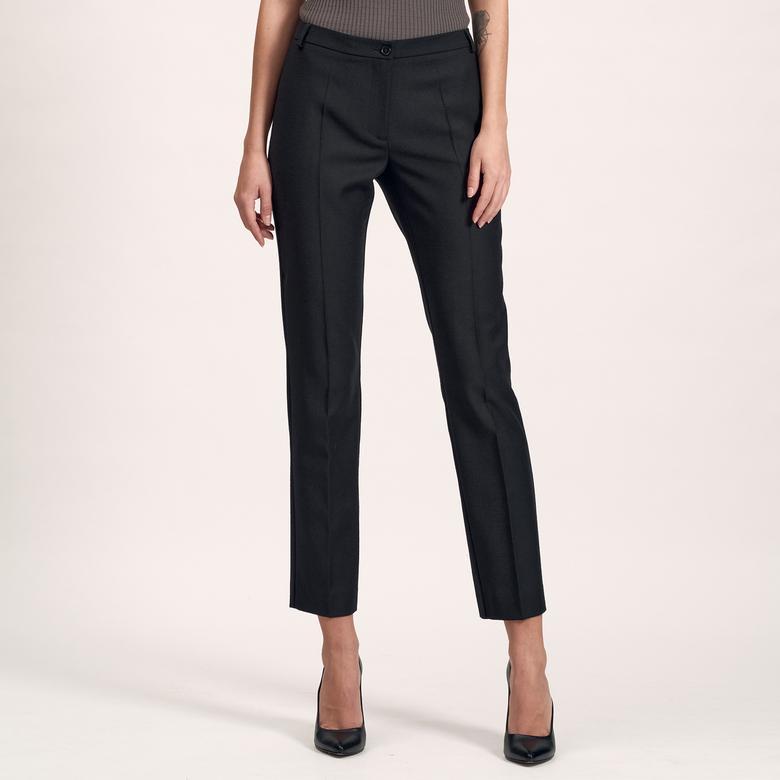 Siyah Dar Paça Kadın Pantolon 1010017001001