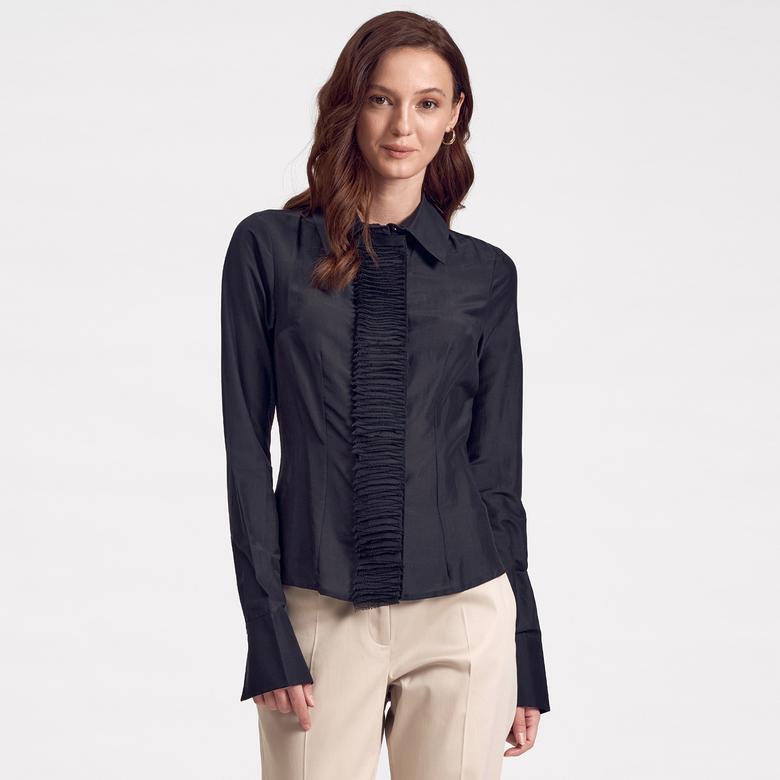 Kadın Klasik Gömlek 1010007339002