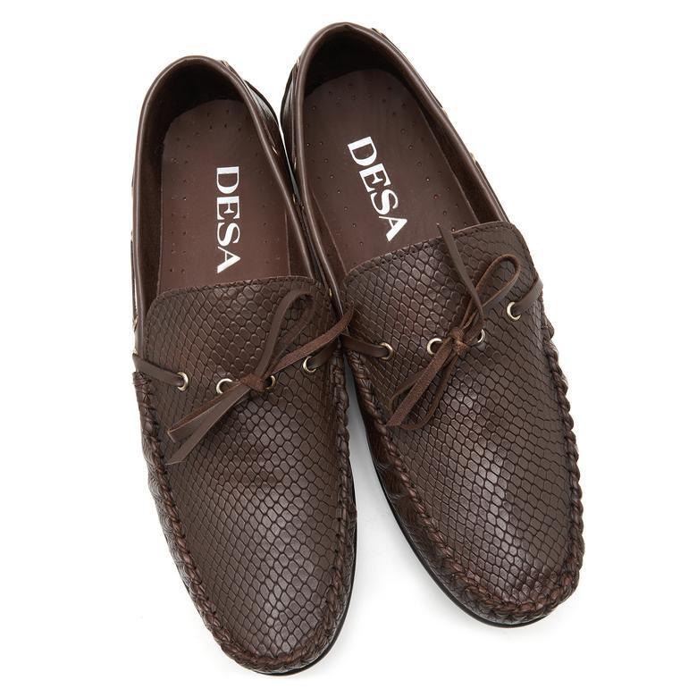 Cefalu Erkek Deri Günlük Ayakkabı 2010047148008