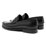 Siyah Portofino Erkek Deri Loafer 2010047137002