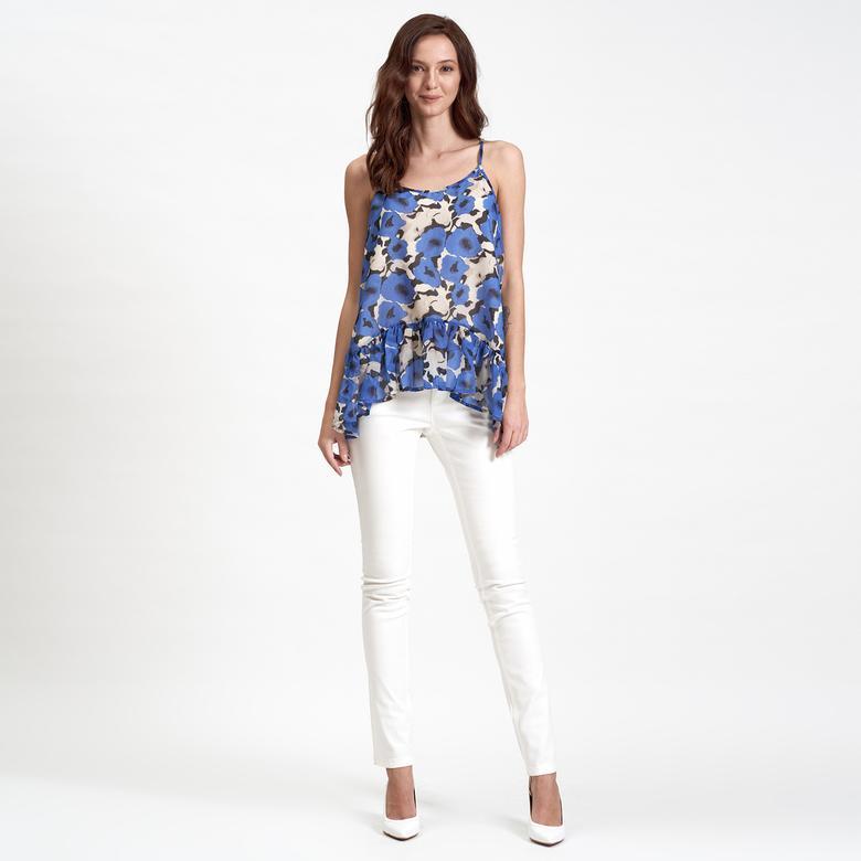 DKNY Jeans Askılı Şifon Kadın Bluz 2300005866001