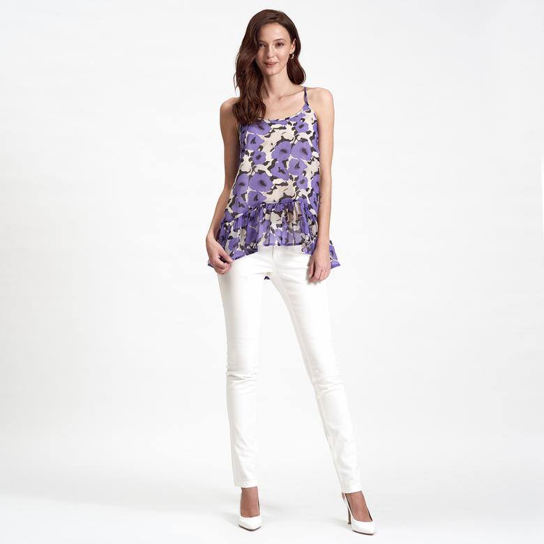 DKNY Jeans Askılı Şifon Kadın Bluz 2300005866008