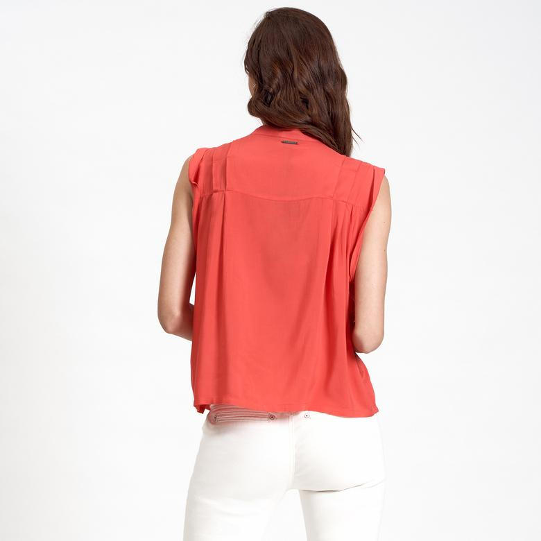 DKNY Jeans Asimetrik Kadın Bluz 2300006897009