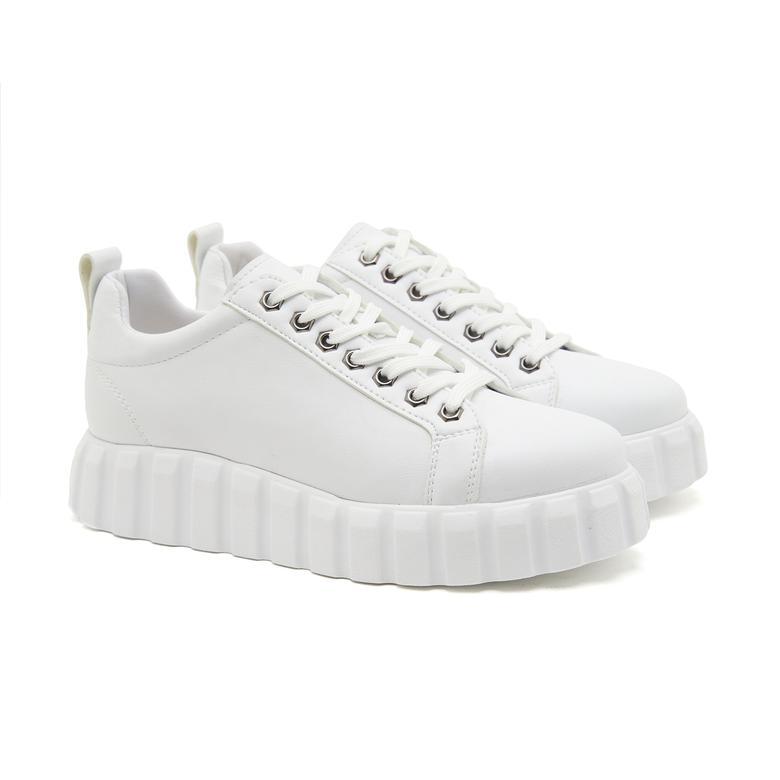 Beyaz Lavinia Kadın Spor Ayakkabı 2010047216005