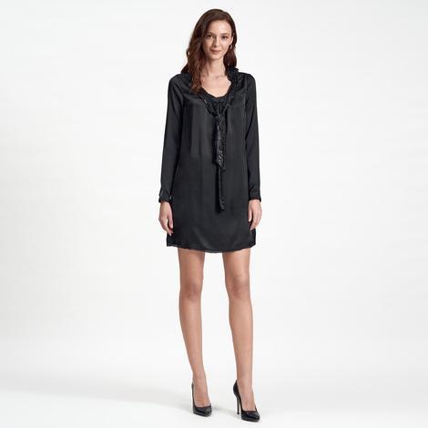DKNY Jeans Uzun Kollu Kadın Elbise 2300000786001