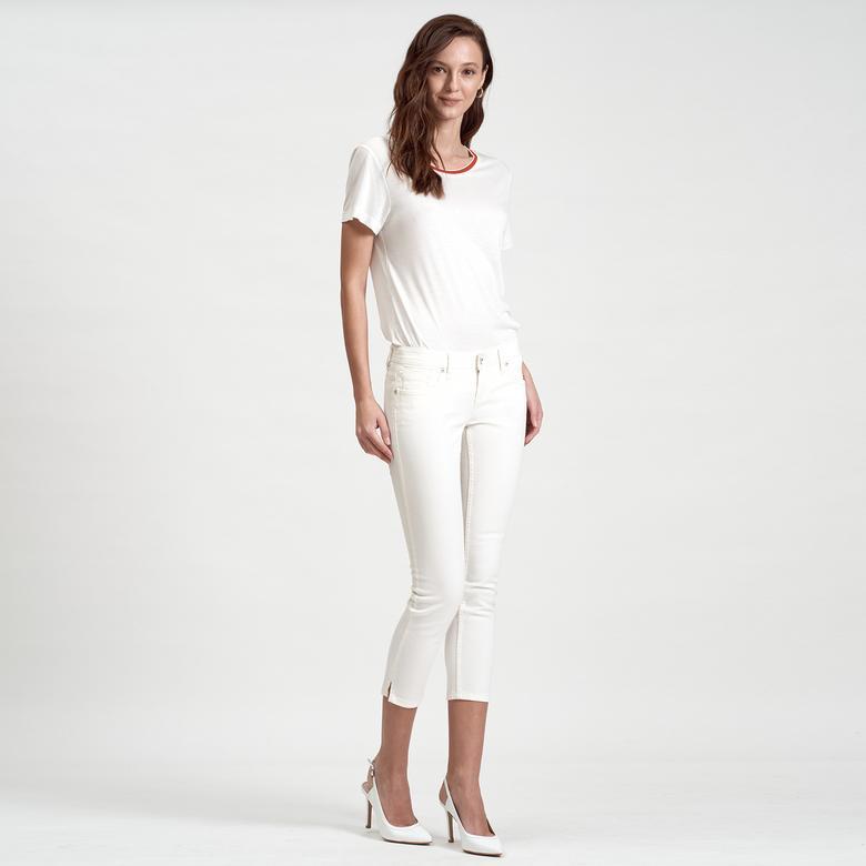 DKNY Jeans Kadın Crop Pantolon 2300006532001