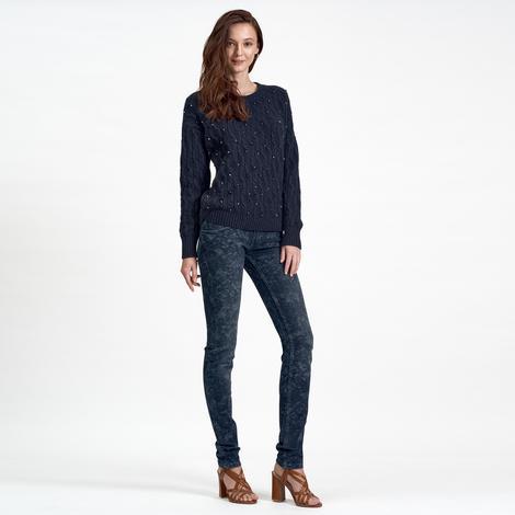 DKNY Jeans Kadın Dar Kot Pantolon 2300001072003