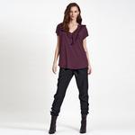 DKNY Jeans  V Yaka Kadın Bluz 2300001123009