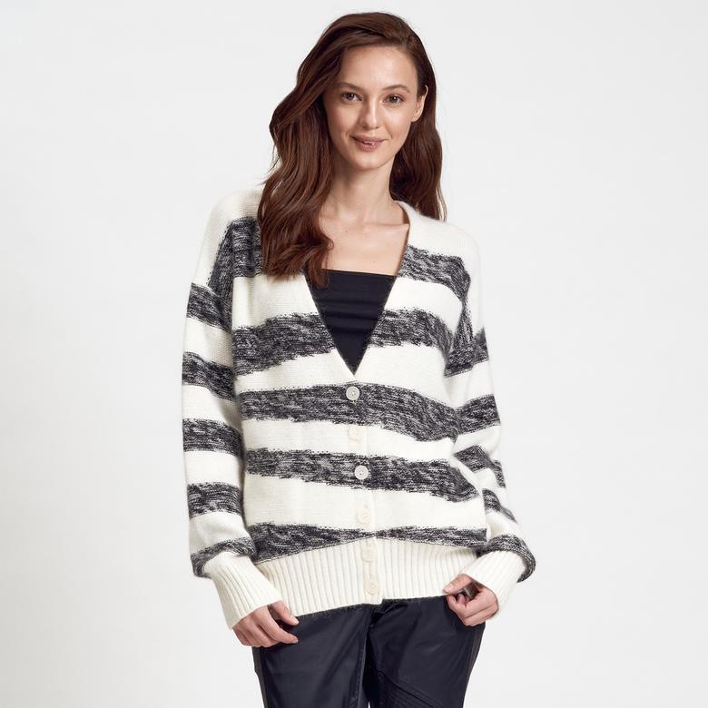 Beyaz DKNY Jeans Kadın Hırka 2300006810008