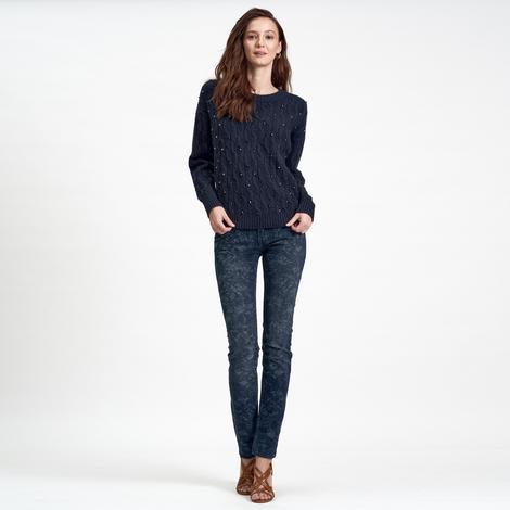DKNY Jeans Kadın Yün Kazak 2300006843005