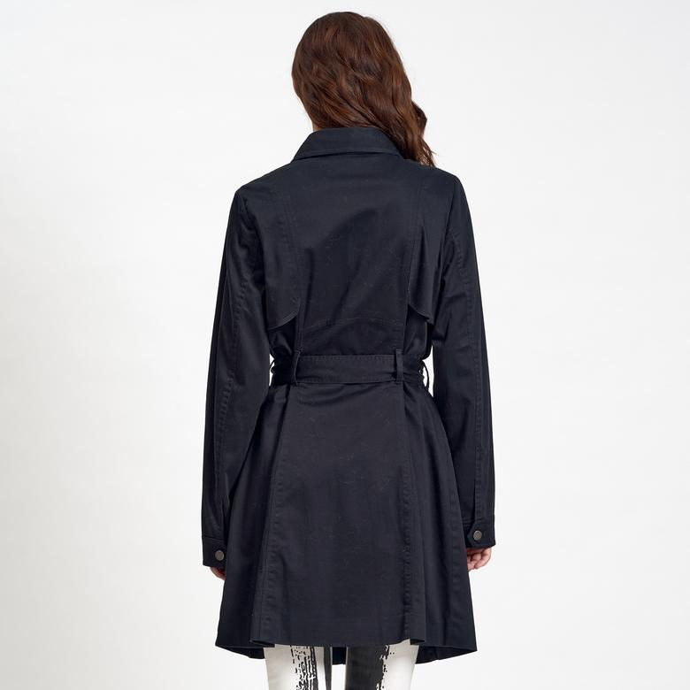 DKNY Jeans Kadın Koton Trençkot 2300006556006