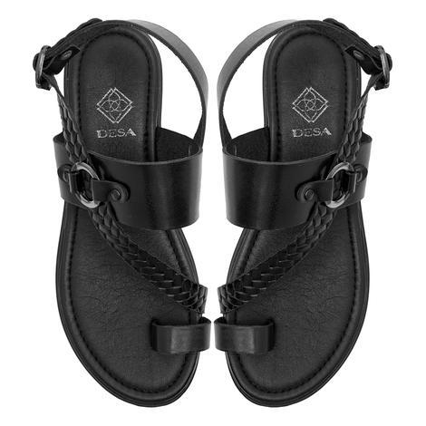 Halina Kadın Deri Sandalet 2010047373001