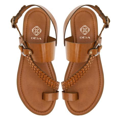 Halina Kadın Deri Sandalet 2010047373007