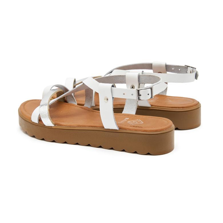 Hesper Kadın Deri Sandalet 2010047374007