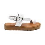 Halina Kadın Deri Sandalet 2010047373013