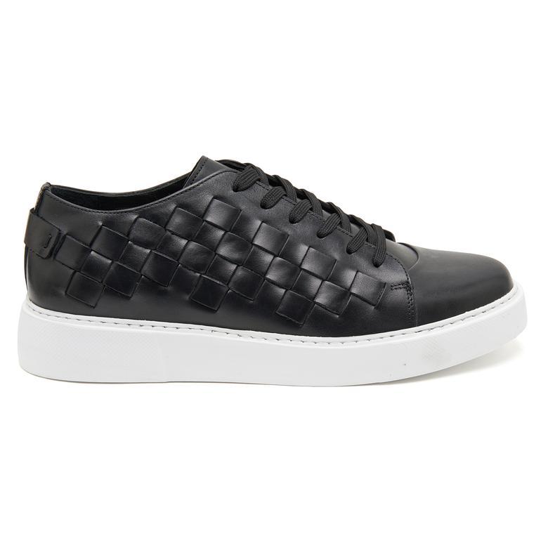 Anton Erkek Deri Günlük Ayakkabı 2010047143003