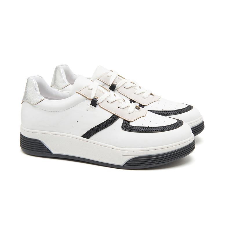 Beyaz Fata Kadın Spor Ayakkabı 2010047208002